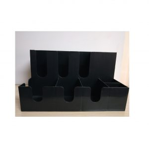 PLASTIC CUP SHELF  CLPCS-8B WITH 8 LATTICES